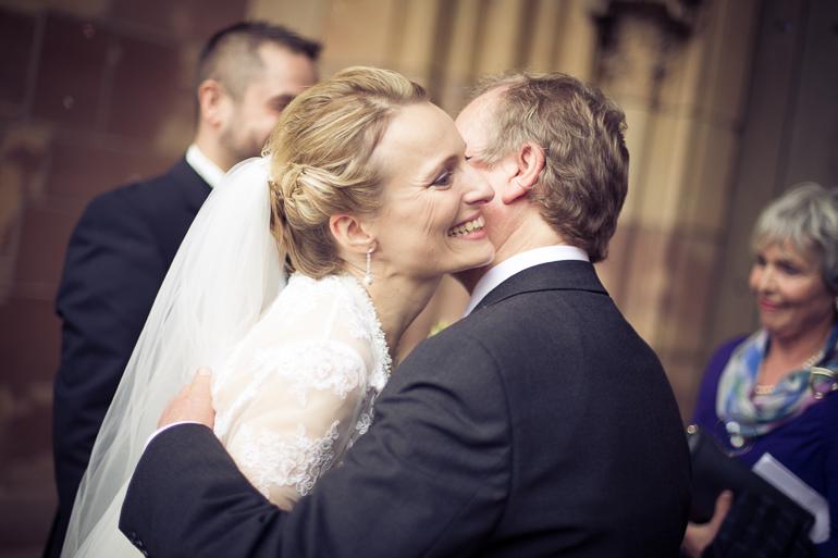 Hochzeitsfotograf in Saarbrücken in Aktion