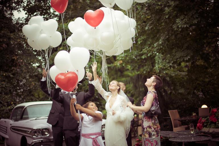 Hochzeitsherzen Hochzeitspaar