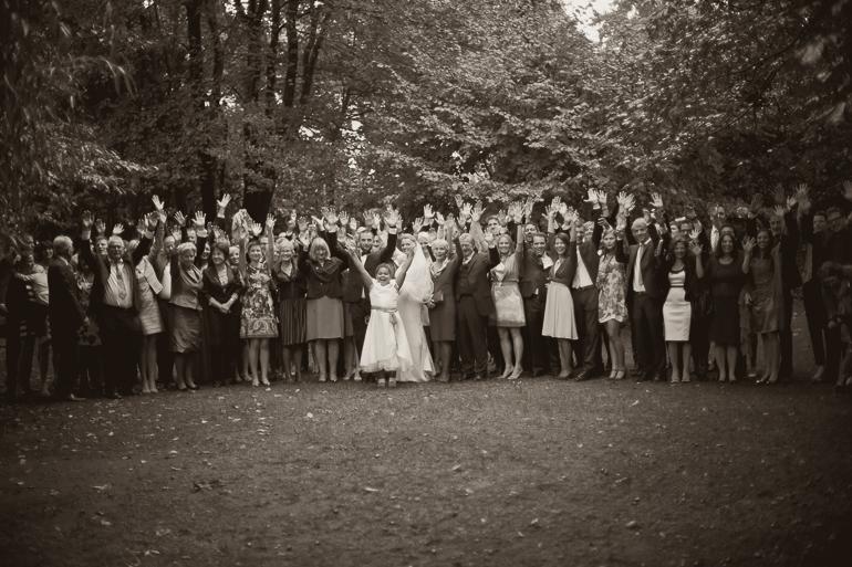 Gruppenfoto Hochzeit Theresa und Andi