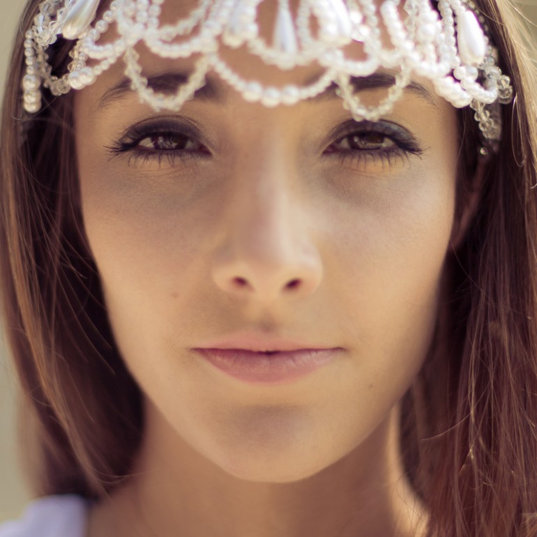 Oriana - Beauty-Portrait beim Fashion-Shooting