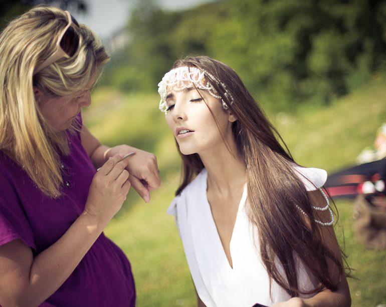Oriana, Making Of Fashion Shooting, Luxemburg