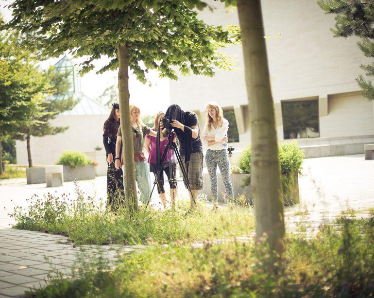 Making Of Fashion Shooting, Luxemburg