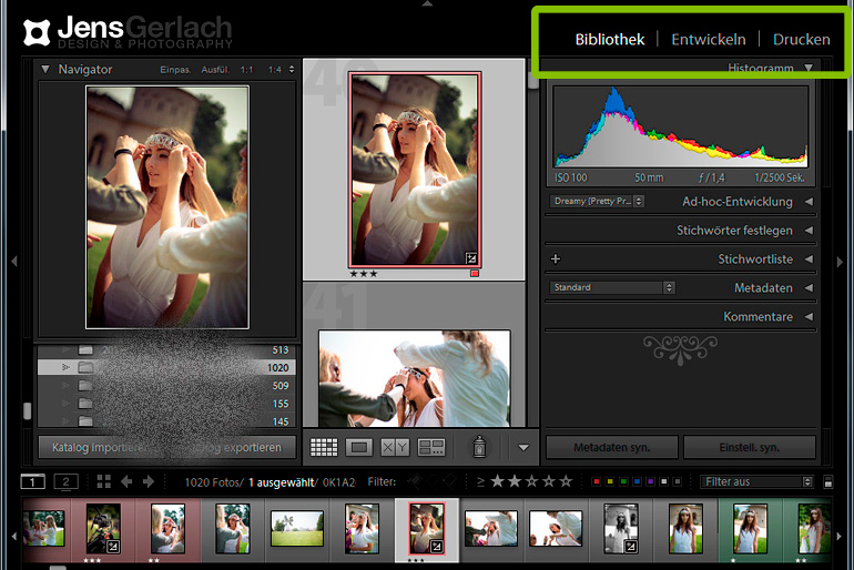 Lightroom optimieren Performance