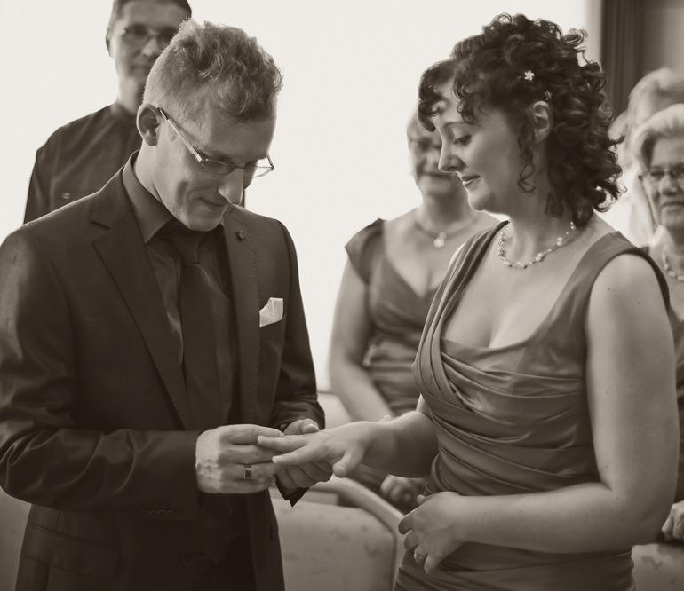 Hochzeitsreportage die standesamtliche Trauung