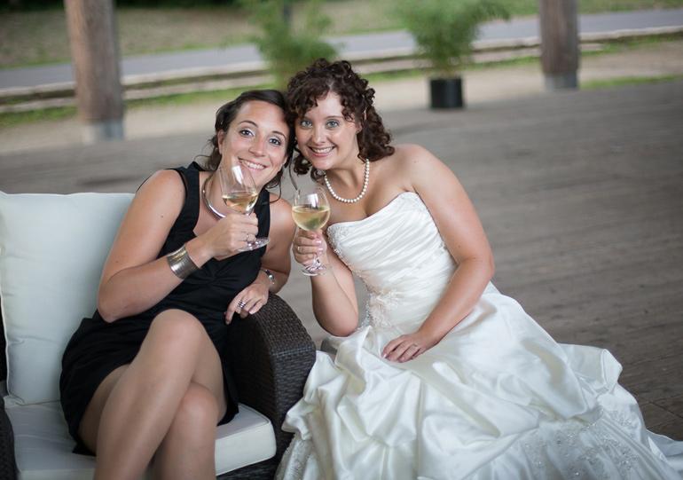 Hochzeitsreportage die Party