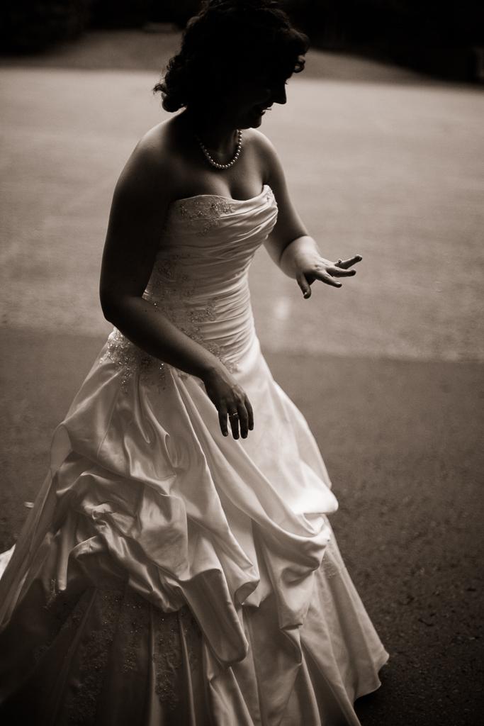 Hochzeitsfotos Die Braut und der Trauring