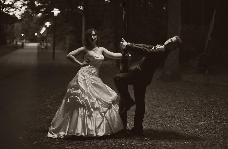 klassisches Hochzeitspaar Shooting