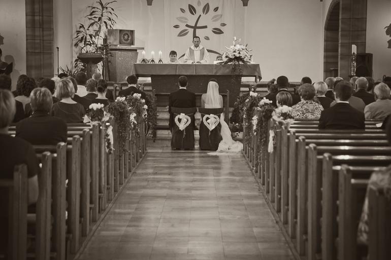Kirchliche Trauung Hochzeitsreportage