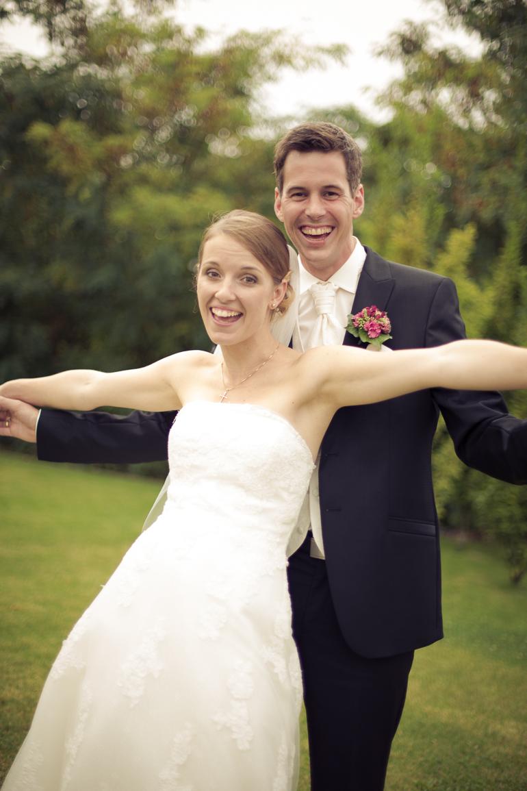 Hochzeitsreportage im Grünen