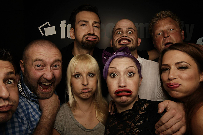 Fotografen Sonja Saur, Pavel Kaplun, Matthias Schwaighofer, Alexander Heinrichs , Calvin Hollywoode