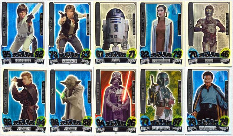 Star Wars Karten