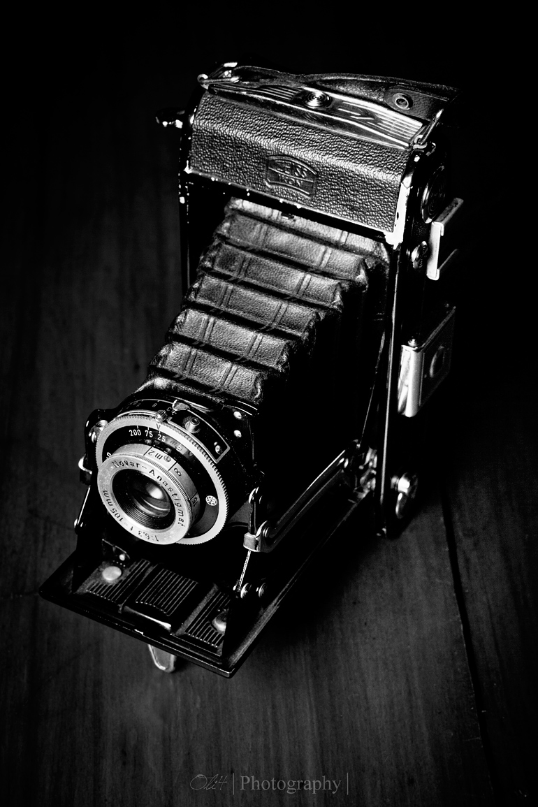 Analoger Fotoapperat Rolleiflex