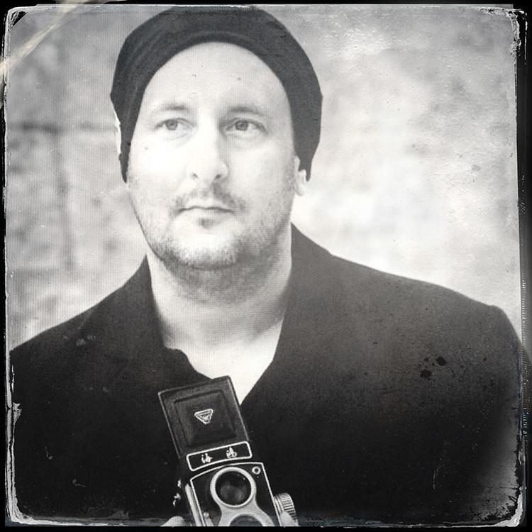 Fotograf Rolleiflex Kamera