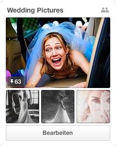 Hochzeitsfotos als Inspiration für die eigene Hochzeit
