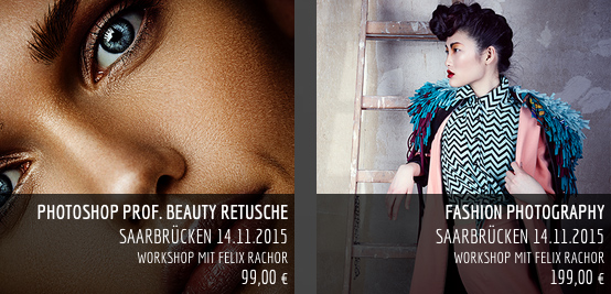 Die Beiden Workshops die Felix in Saarbrücken hält